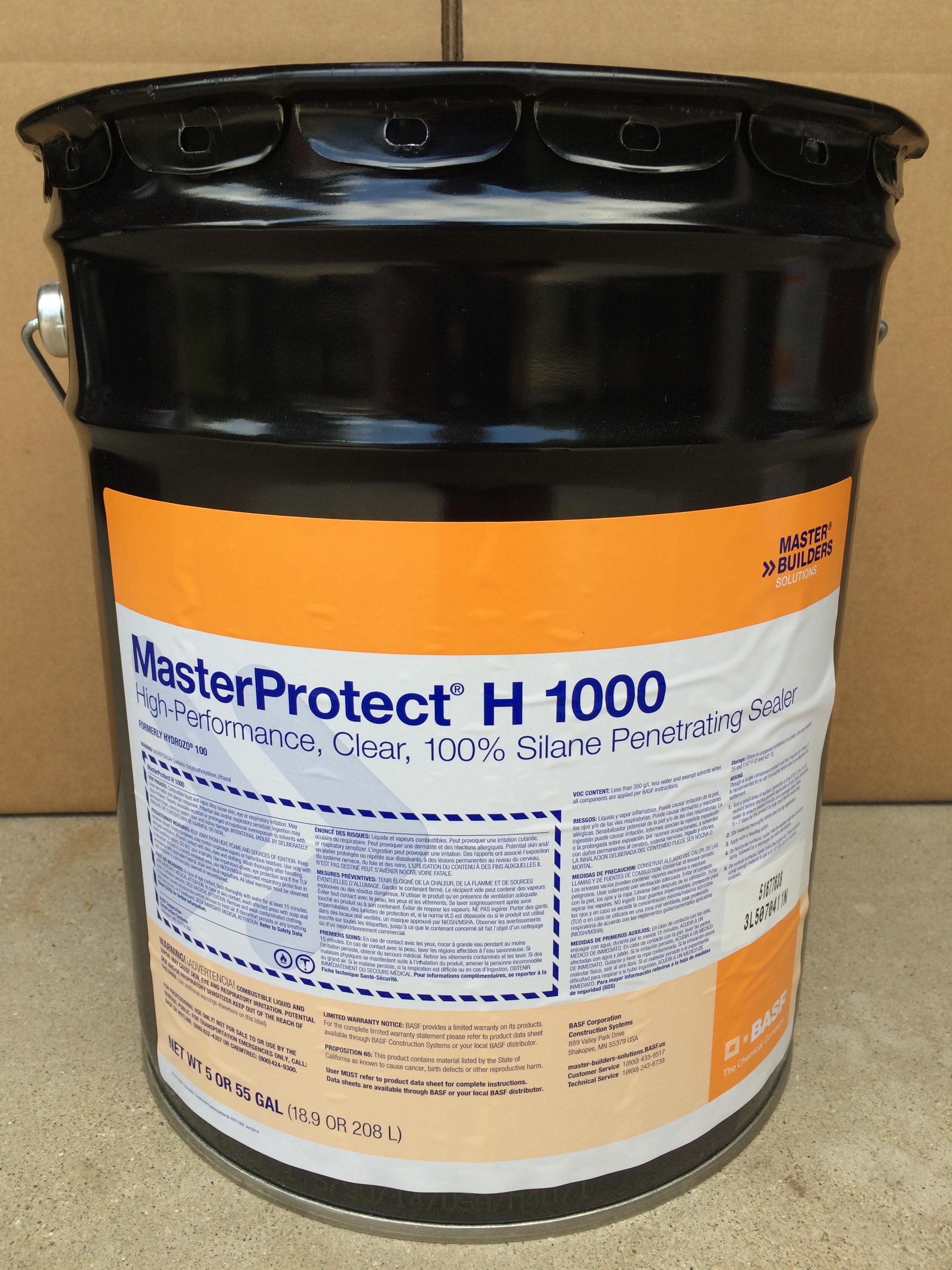 BASF MasterProtect H 1000 High Perfomance Silane Penetrating