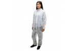 Ammex CO35 Poly Spun Latex Free Coveralls (XXX-Large) CO35XXXL