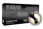 Microflex MidKnight Powder Free Nitrile Exam Grade Gloves X-Small MK-296-XS