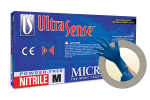 Microflex UltraSense Powder Free Nitrile Exam Grade Gloves Small US-220-S