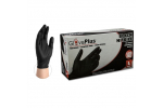 Ammex GPNB GlovePlus Nitrile Black Powder-Free Industrial Gloves (Medium) GPNB44100