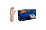 Ammex GPX3D 3mil Vinyl Powder-Free Industrial Gloves (Medium) GPX3D44100