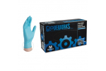 Ammex IN Gloveworks Nitrile Powdered Industrial Gloves (Medium) IN44100