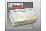 Shamrock 13000 Series Poly Silk Supreme, Powder Free, Textured, Latex Exam Gloves (Large) 13113