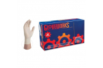 Ammex TLF Gloveworks Latex Powder-Free Textured Industrial Gloves (Small) TLF42100