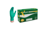 Ammex XNGPF Xtreme Nitrile Green Powder-Free Textured Industrial Grade Gloves (Large) XNGPF46100