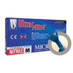 Microflex UltraSense Powder Free Nitrile Exam Grade Gloves Medium US-220-M