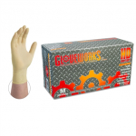 Ammex ILHD Gloveworks Latex Heavy Duty 8mil Powder-Free Industrial Gloves (Small) ILHD42100