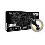 Microflex Black Dragon Zero BD-1000-NPF Nitrile Powder Free Exam Gloves (Medium) BD-1002-NPF-M