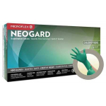 Microflex Neogard Wet Grip & Ergonomic Certified Neoprene Exam Gloves - Case of 1000 (Extra Small) C520