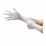 Microflex CE4-313 Series 11.4 Inch Class 10 Powder-Free Nitrile Gloves - Case of 1000 (Extra Small) CE4-313-XS