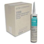 Dow Corning 1199 White Silicone Glazing Sealant 1199W-Case