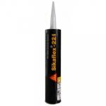 Sikaflex-221 Aluminum Gray Multi-Purpose One Component Polyurethane Sealant/Adhesive 10.1 Fluid Ounce Cartridge Case - 221ALGRY-24