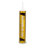 Tremco 45 SSL Black Semi-Self-Leveling Polyurethane Sealant 445802A 333