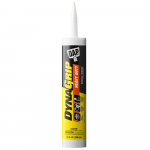 DAP DYNAGRIP Heavy Duty Construction Sealant - 10 Fluid Ounce Cartridge - Case of 12 - 7079827509