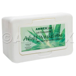 AMMEX AmmexCare Adult Washcloths - 12 Dispensers of 50 Each (600 Cloths) AWCT