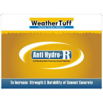 "Anti-Hydro ""R"" Waterproof Concrete Admixture - 5 Gallon Pail - AH-R-1"