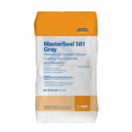 BASF MasterSeal 581 Gray Waterproof Cement-Based Concrete and Masonry Coating - 50 Pound Bag - 581G