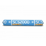 GE SilPruf SCS2000 Aluminum Gray Silicone Sealant Sausage SCS2009S