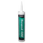 Tremco Tremsil 400 Black Single-Component, Neutral-Cure Silicone Sealant - 10.1 Fluid Ounce Cartridge 970802323