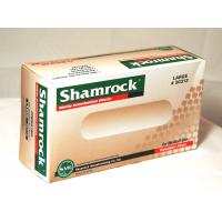 Shamrock 30000 Series Powder Free Textured Blue Nitrile Exam Gloves Case (Medium) 30312