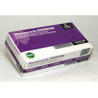 Shamrock 30350/100 Series, Small,  Light Weight, Powder Free, Nitrile, Examination Gloves - Case 30351/100