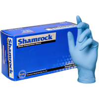 Shamrock 30350 Series Small, Light Weight, Textured, Powder Free, Nitrile, Examination Gloves - Case of 2000 30351