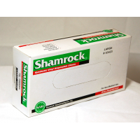 Shamrock 63000 Series Lightly Powdered Smooth Industrial Latex Free Vinyl Gloves 63422