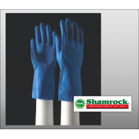 "Shamrock 86000 Series Size Small Latex Textured 12"" Cuff Canners Gloves - Case 86011"