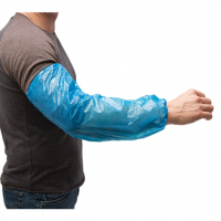 Ammex Blue Latex-Free Poly Sleeves (One Size Fits All) PSLEEVE-BL