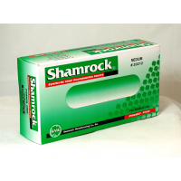 Shamrock 20000 Series Powder Free Clear Vinyl Latex Free Exam Gloves (Medium) 20212
