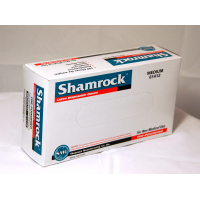 Shamrock 61000 Series Powdered Smooth Industrial Latex Gloves 61412