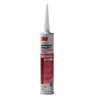3M Marine Adhesive Sealant 5200 Fast Cure White - 10 Fluid Ounce Cartridge 06520