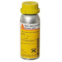 Sika Aktivator 205 Pre-treatment Agent for Non-Porous Substrates - 8 Ounce Bottle 205C-8OZ