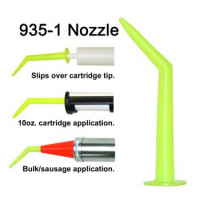 Albion Angle Shot Green Plastic Nozzle for 1/10 Gallon Cartridges 935-1