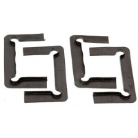 CRL Black Gasket Replacement Kit with Fin for Cologne Series Hinges C0LGK1