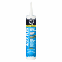 DAP ALEX Flex White Premium Molding And Trim Sealant - 10.1 Fluid Ounce Cartridge 7079818542