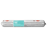Dow Corning 795 Charcoal Silicone Rubber Building and Glazing Sealant Sausage 795CHS