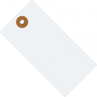"Box Partners 3-1/4"" x 1-5/8"" Tyvek Shipping Tags - Case of 1,000 G13021"