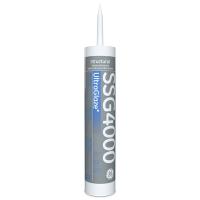GE SSG4000 UltraGlaze Structural Glazing Silicone Adhesive Sealant- 10.1 Fluid Ounce Cartridge SSG4000