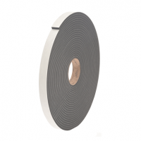 "St. Gobain Norseal 1/16"" x 1/4"" 710 Single Coated Multi-Purpose Medium Density Foam Tape   V71211614GRY"