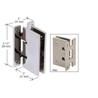 CRL Concord 037 Series Chrome Wall Mount Hinge SDH037CH