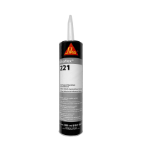 Sikaflex 221 White Multi-Purpose One Component Polyurethane Sealant/Adhesive 10.1 Fluid Ounce Cartridge  221W