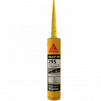 Sikasil WS-295 Black Neutral Cure Weather Sealing Silicone Sealant - 10 Fluid Ounce Cartridge 412132