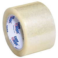 "Tape Logic #350 3"" x 55 yds. Clear Industrial Tape - Case of 24 T905350"