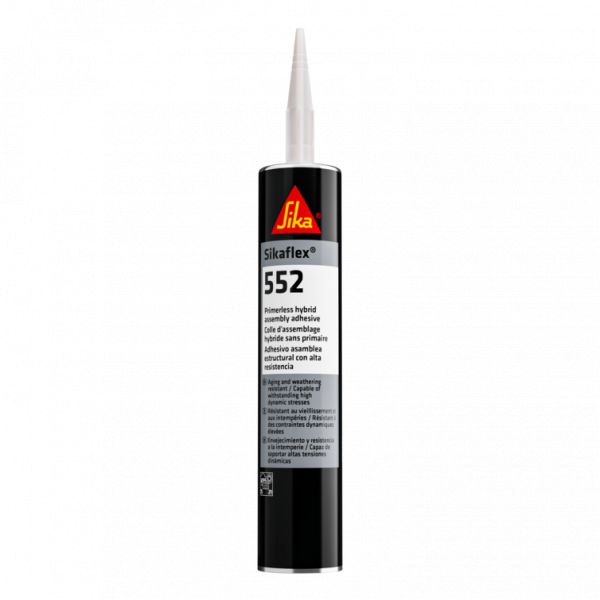 Sikaflex 552 White High Strength Structural Assembly Adhesive - 10.1 Fluid Ounce Cartridge 552W
