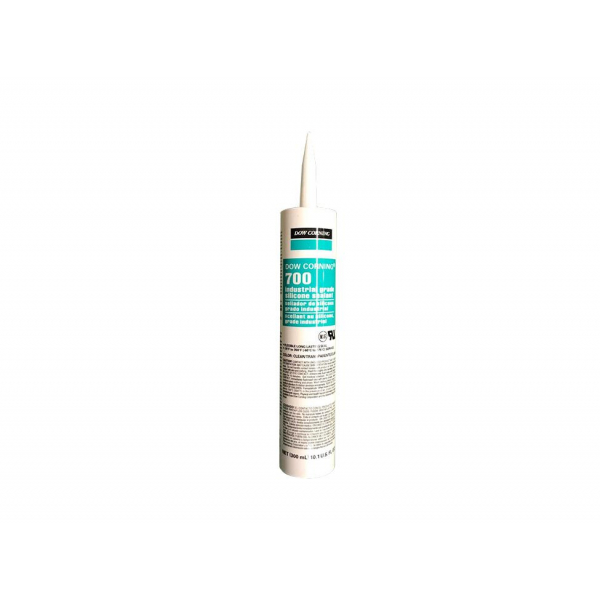 Dow 700 Black Industrial Grade One-Part 100% Silicone RTV Sealant 700BL