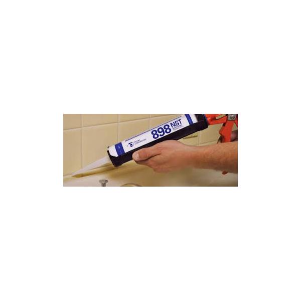Pecora 898 NST Natural Cure Sanitary Tru-White Sealant