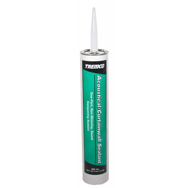 Tremco Acoustical Curtainwall Sealant - 28.7 Fluid Ounce Cartridge 93170X333