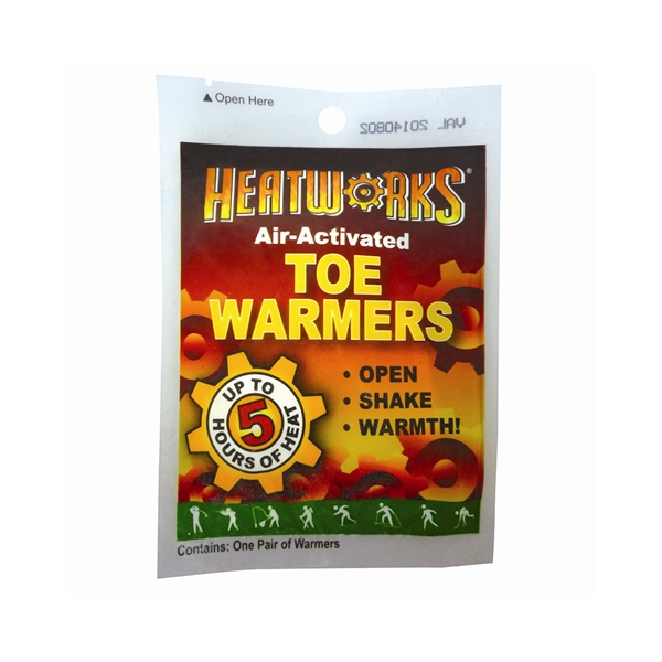 Ammex Heatworks Air Activated Toe Warmers - Case of 576 HW4